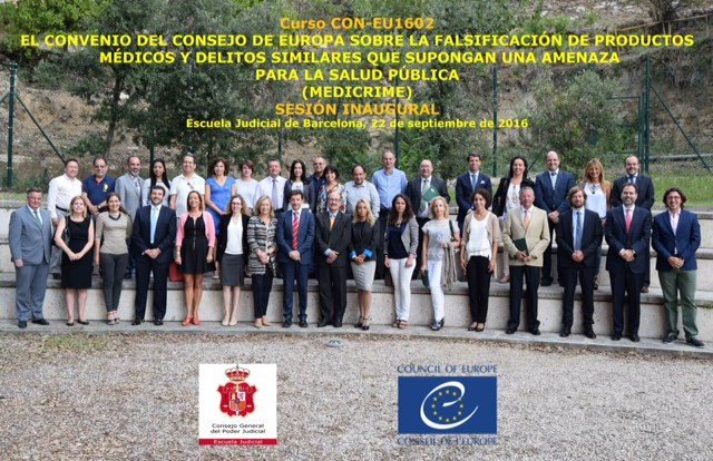 Pilot training course on the counterfeiting of medical products launched in Spain