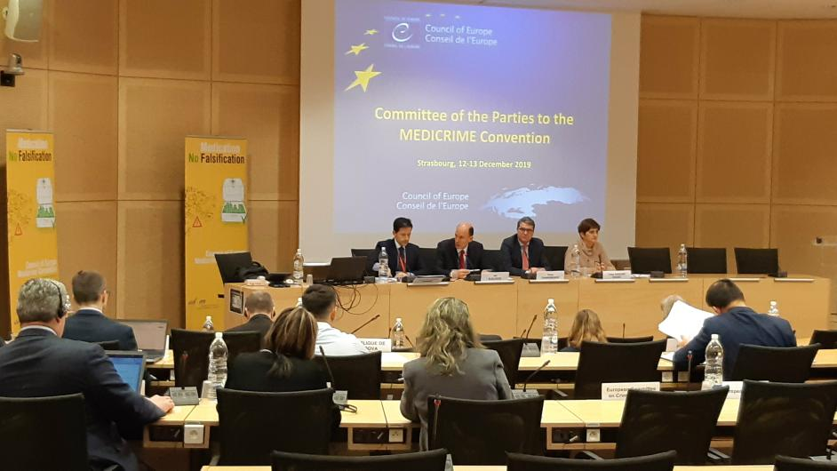 2nd meeting of the Committee of the Parties to the MEDICRIME Convention