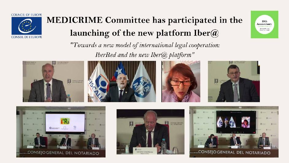 MEDICRIME Committee has participated in the launching of the new platform IberRed