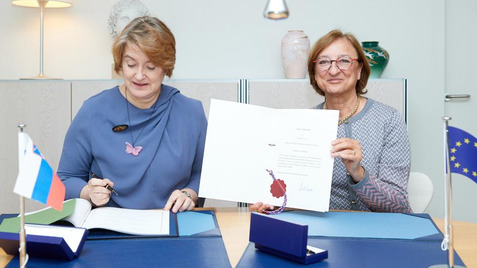 Slovenia signed the MEDICRIME Convention