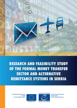 Research and feasibility study of the formal money transfer sector and alternative remittance systems in Serbia cover