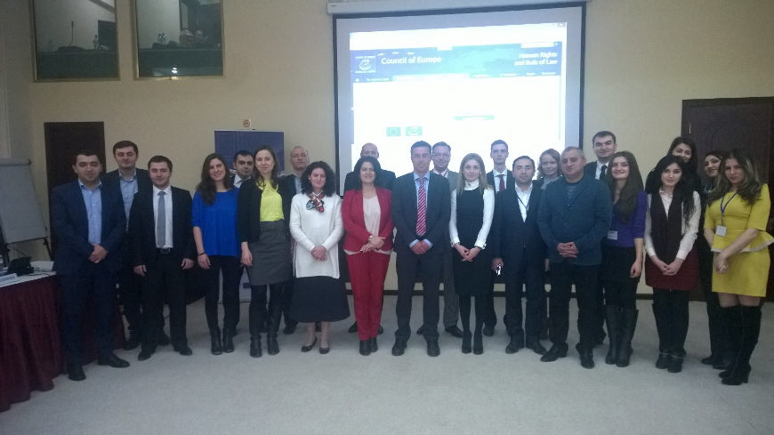 Regional Closing Conference (Activity 2.1): Share of peer countries on reforms and good practices during the implementation of the Project (Tbilisi, 12 December 2014)