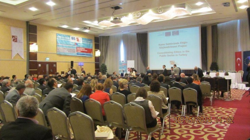 Closing Conference – Consolidating Ethics in the Public Sector in Turkey Project (Ankara, Turkey, 28 May 2014)