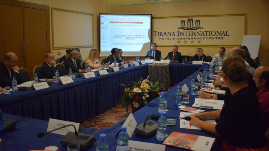 Roundtable on the implementation of a new electronic system for the High Inspectorate for Declaration and Audit of Assets and Conflict of Interest (HIDAACI)