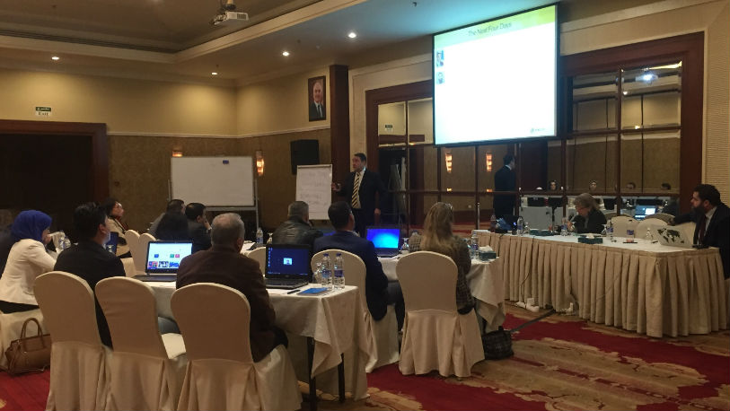 Training on open source internet investigations in Jordan