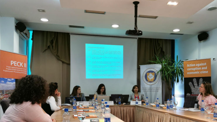 PECK II facilities discussion with the NPOs in Kosovo* in relation