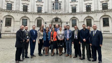 Study visit for Kosovo* authorities to London
