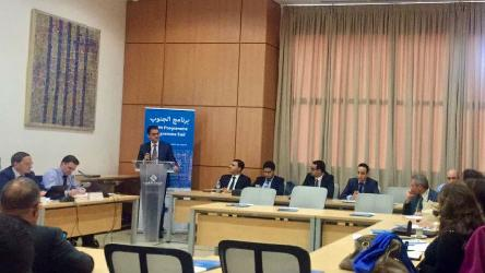 Workshop for Moroccan financial institutions on preventing and identifying money-laundering transactions related to corruption