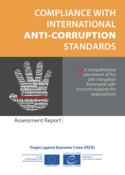 Compliance with International Anti-Corruption Standards cover