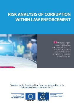 Risk Analysis of Corruption within Law Enforcement cover