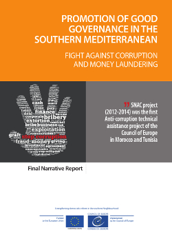 SNAC Final Report: Fight against Corruption and Money Laundering