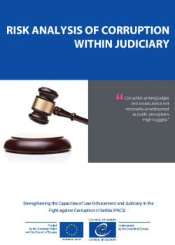 Risk Analysis of Corruption within Judiciary cover
