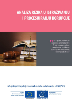 Risk Analysis on Corruption Investigation and Proceedings cover