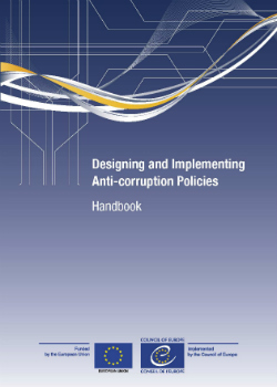 Designing and Implementing Anti-corruption Policies - Handbook cover