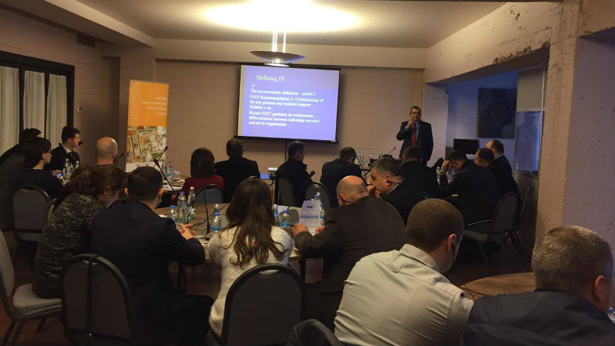 Training on Investigation and Prosecution of Terrorist Financing Cases