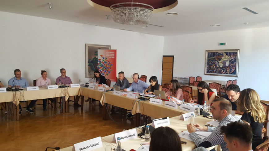 "Workshop on ""Development of the Action Plan for the Communication Strategy of the Agency for Prevention of Corruption"""