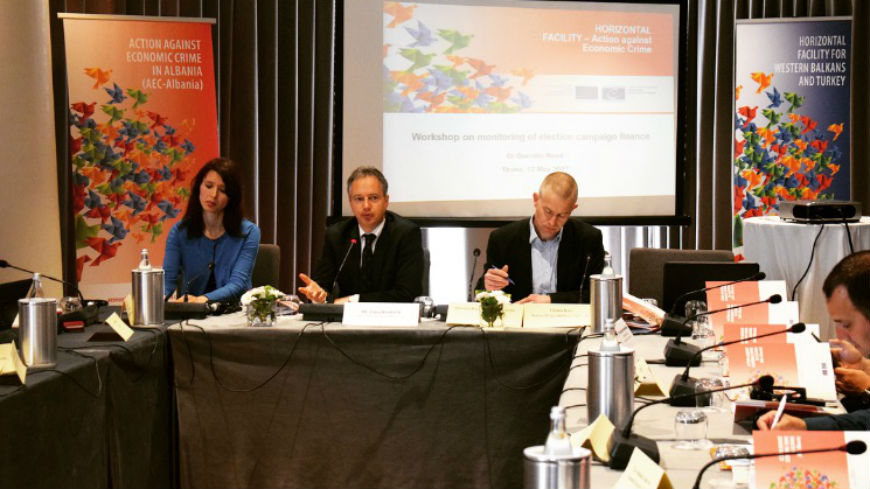 Albanian NGOs and Media receive training on monitoring election campaign finances