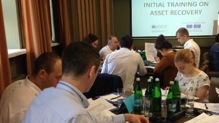 Training on Asset Recovery for Ukraine's Asset Recovery and Management Agency