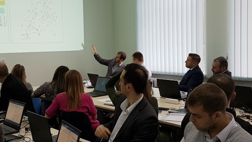 Training for NABU analysts on the use of i2 Analyst Notebook 9.0