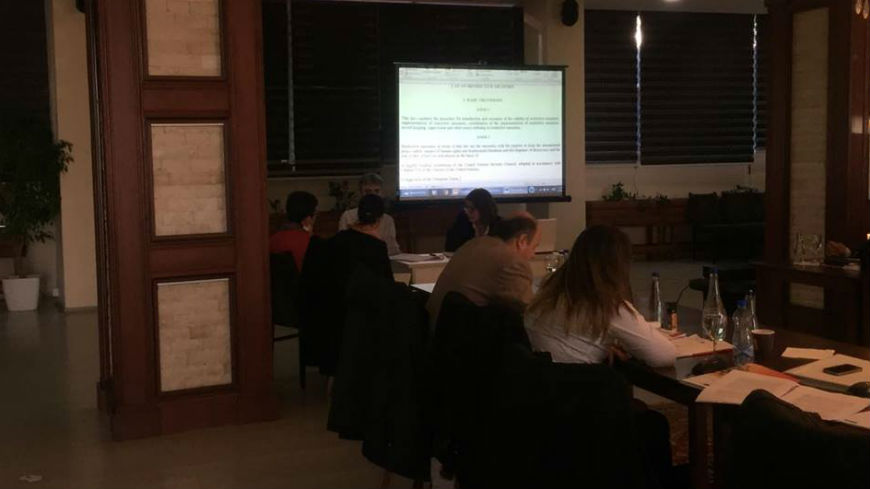"Workshop on ""Revision of specific legislation and identification of the deficiencies in the application of the international standards"""