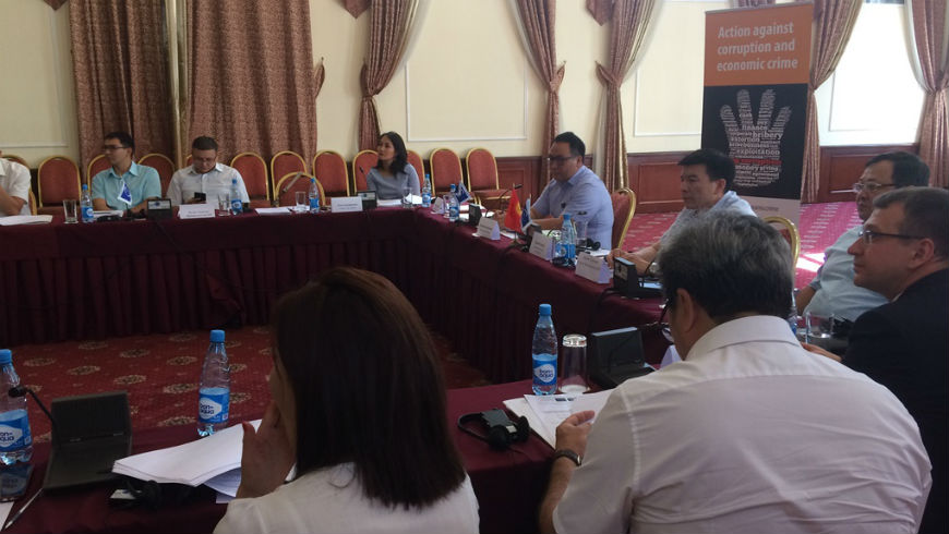 Workshop on the framework for corruption proofing of legislation for Kyrgyzstan