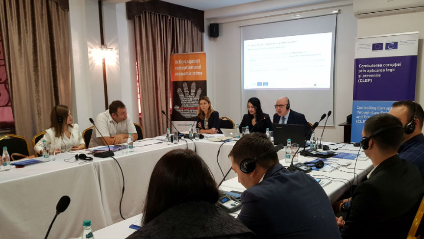 The CLEP-Moldova Project supports anti-money laundering training for lawyers and notaries