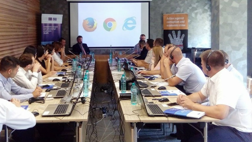 CLEP-Moldova Project holds 5-day training on Open Source Intelligence