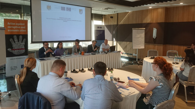 Training of Trainers for the compliance officers from Moldovan banks on compliance with anti-money laundering standards