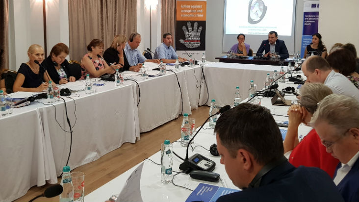 The CLEP-Moldova Project supports anti-money laundering training for auditors and accountants