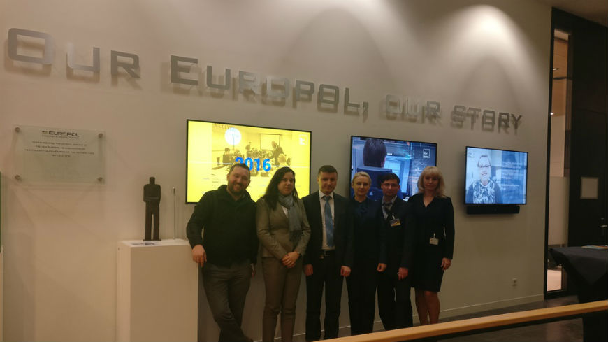 CLEP Project supports a technical visit of the Moldovan Assets Recovery Office to EUROPOL HQ
