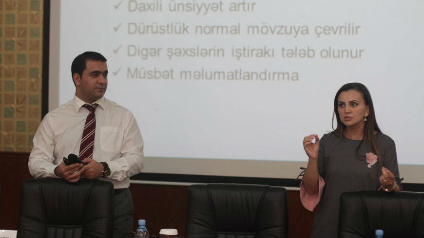 Pilot Trainings on Ethics and Anti-Corruption in Public Service