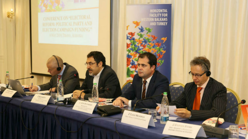 Support to the electoral reform in Albania - looking at political party and election campaign funding