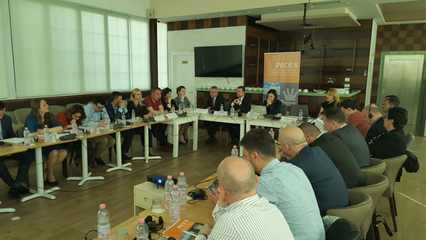 PECK II Project holds regional roundtable on protection of whistleblowers