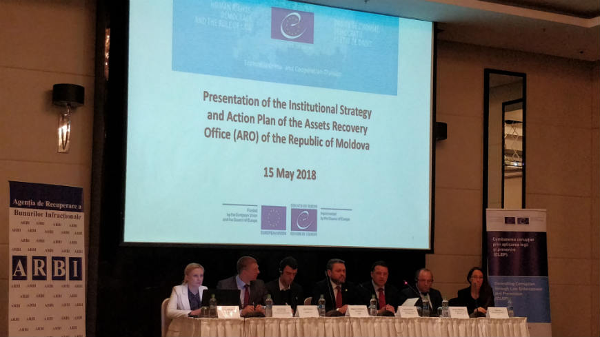 CLEP-Moldova Project supports the presentation of the Institutional Strategy and Action Plan of the Assets Recovery Office