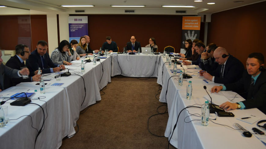 Workshop on interagency coordination of anti-corruption bodies in Moldova