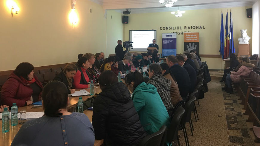 CLEP-Moldova Project trains local public officials on integrity matters and reporting principles