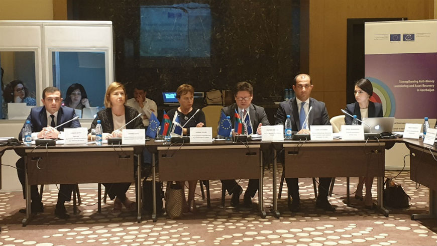 "First Steering Committee Meeting of the Project on ""Strengthening Anti-Money Laundering and Asset Recovery in Azerbaijan"