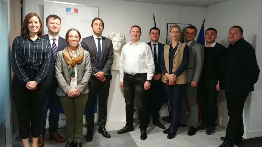 French authorities host a Moldovan delegation on a Study Visit