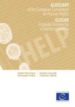 English / Albanian Glossary on the ECHR