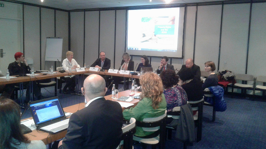 Launching of the HELP course on Property Rights for judges from Bosnia and Herzegovina, Serbia and Montenegro