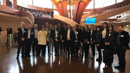 Study Visit of the XIII Group of Justice Students to Strasbourg
