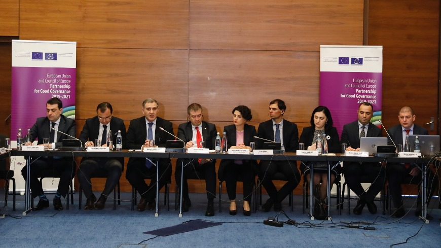 "Launch of the European Union and the Council of Europe joint project ""Supporting the criminal justice reforms – tackling criminal aspects of the judicial reform"""