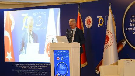 "International Conference and closing ceremony under the framework of the project ""Improving the Effectiveness of Investigation of Allegations of Ill-treatment and Combating Impunity"" in Turkey"