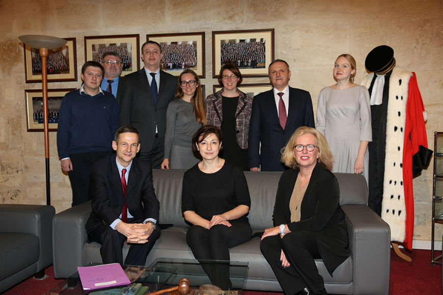 Study visit of Ukrainian prosecutorial authorities to the French National School of Magistrates