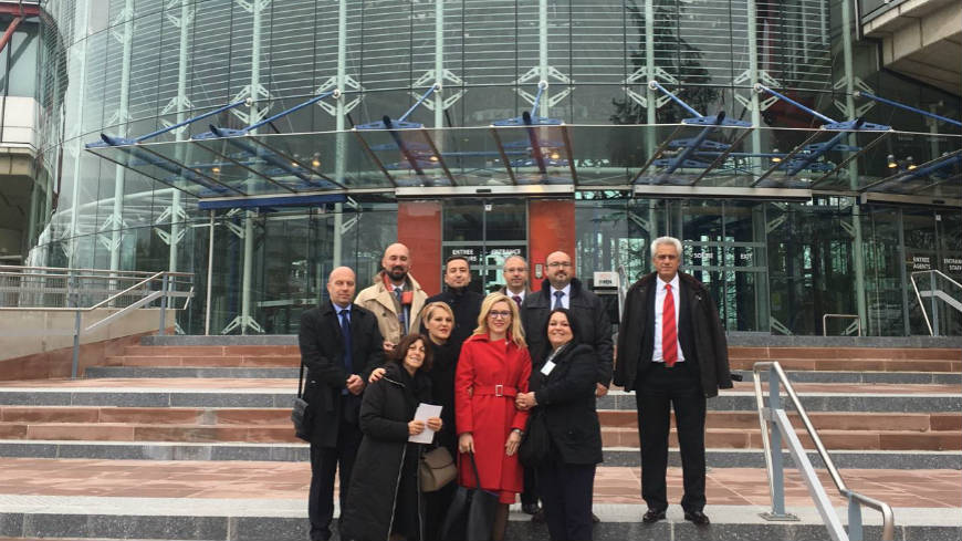 Study Visit for Representatives of the Academy for Judges and Public Prosecutors' Pool of Trainers to the Council of Europe