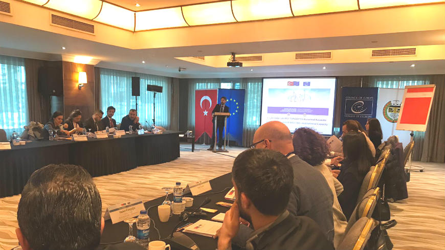 Development of the Action Plan for the Human Rights Centers of Turkish Bars was the Focus of the First Working Group meeting of the Joint Project