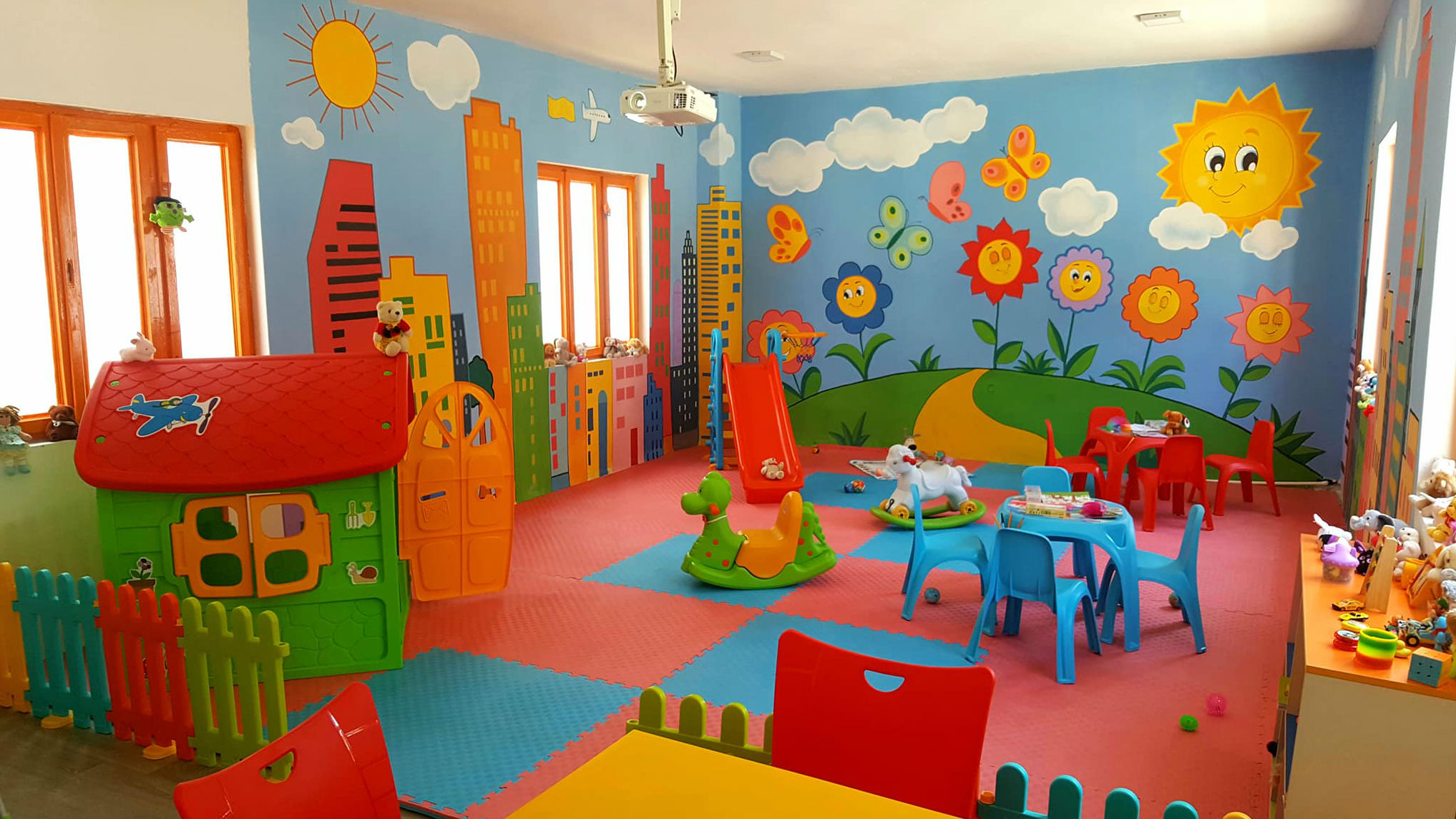 Visitor's room for the children of imprisoned parents officially opened in prison Stip
