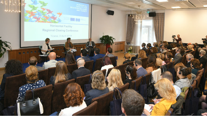 Regional closing conference on Horizontal Facility Programme demonstrates benefits for Western Balkans societies