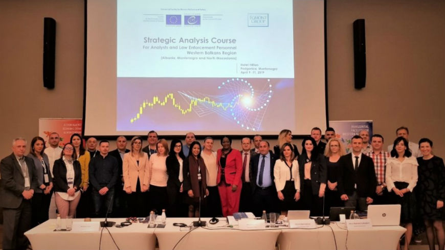 ECCD organises Strategic Analysis Course for financial analysts and law enforcement personnel from Albania, North Macedonia and Montenegro