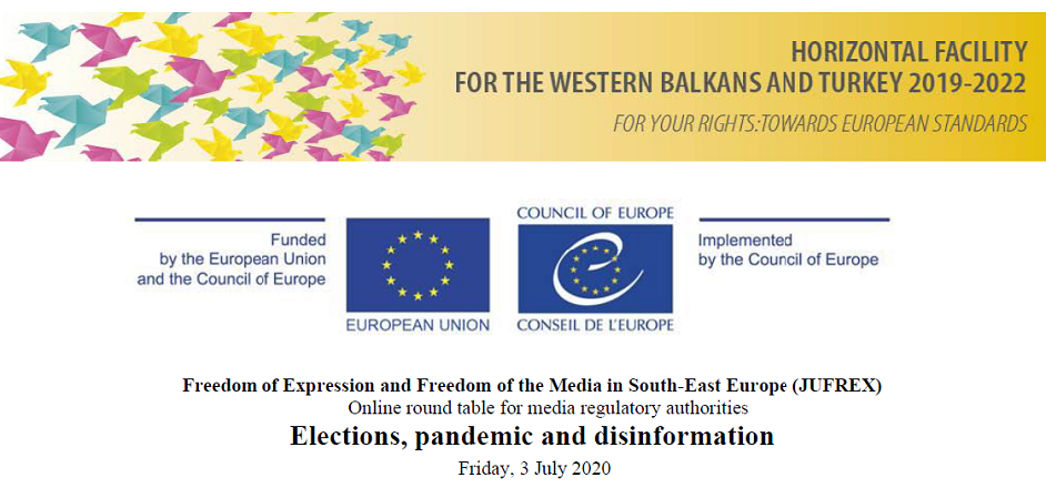 "Regional online round table ""Elections, pandemic and disinformation"""
